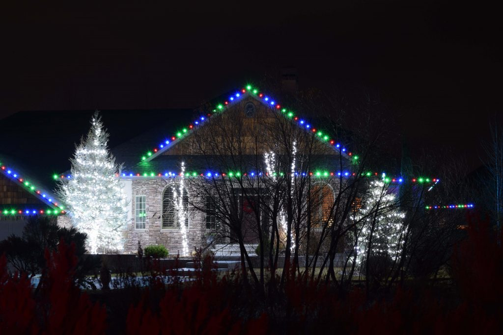 Gable Lights and Tree Wraps